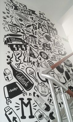 Agency life mural – peterjaycob on                                                                                                                                                      More