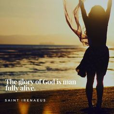 """@liv_free_today *** """"The glory of God is man fully alive"""" (Saint Irenaeus). ***** """"But God, being rich in mercy, because of the great love with which he loved us, even when we were dead in our trespasses, made us alive together with Christ—by grace you have been saved—""""(Ephesians 2:4-5). Christ paid the ultimate price, death on a cross, so that you and I wouldn't have to. And then, He did the impossible, rose from the grave, so that we could have victory and freedom in Him. Galatians 5:1…"""