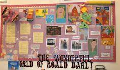 Roald Dahl classroom display