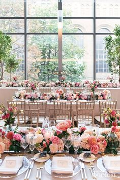WedLuxe – A Lush Summer Wedding At The Royal Conservatory | Photography by: Studio 2000 Follow @WedLuxe for more wedding inspiration!