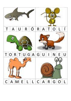 Bingo lletres Conte, Book Worms, Activities, Valencia, Animals, School, Literacy Activities, Phonological Awareness, Note Cards