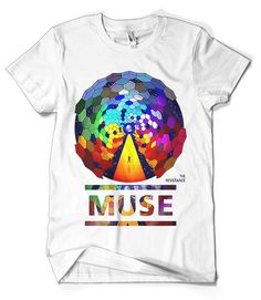 f335cb42 Muse T-Shirt Merch official licensed music t-shirt. New States Apparel  Unisex