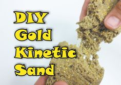 Hi everyone today gonna use some sea sand,glitter and slime to make gold kinetic sand.Looks cool.hope you like it How to make gold glitter kinetic sand How t...