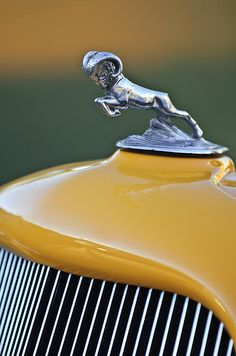 1933 Dodge Ram Hood Ornament - Car Images by Jill Reger