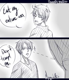 EreRi ll Eren Jaeger x Levi ((Rivalle)) Attack On Titan Comic, Attack On Titan Fanart, Attack On Titan Ships, Attack On Titan Tumblr, Armin, Eren E Levi, Anime Faces Expressions, Memes, Anime Boyfriend