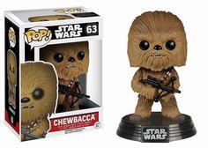 Star Wars Episode VII POP! Vinyl Wackelkopf-Figur Chewbacca 10 cm