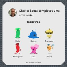 Monstros.