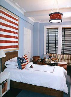 Drum Lampshade Boy's Bedroom