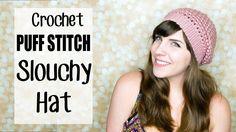 Crochet Puff Stitch Beanie Hat 2.0