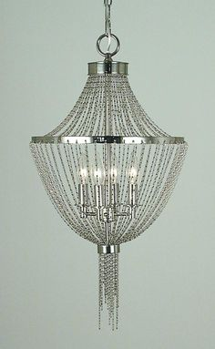 Four Light Chandelier From The Arabesque Collection : SKU QYQE | Southern Cabinets & Lighting