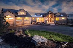 The best ranch house floor plans. Find open & modern ranch style home designs, small bedroom ranchers w/basement & more! Call for expert help Basement House Plans, Lake House Plans, Ranch House Plans, Country House Plans, Small House Plans, Ranch Exterior, Modern Ranch, Farmhouse Plans, Modern Farmhouse