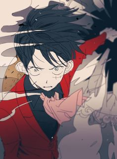 Monkey D. Luffy (breaking the mirror to Sunny to defeat Charlotte Katakuri) One Piece World, One Piece Ace, One Piece Luffy, Manga Anime One Piece, One Piece Fanart, Monkey D Luffy, One Piece Tattoos, Ace And Luffy, One Piece Drawing