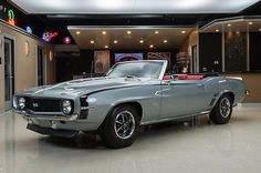 cool 1969 Chevrolet Camaro Convertible - For Sale