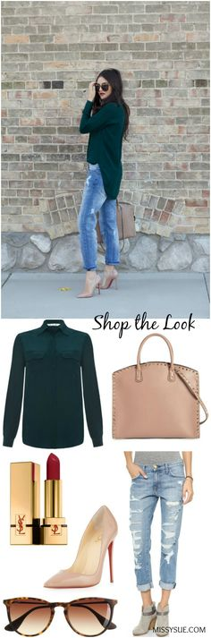 Shop the Look: Green Silk