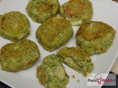 Polpette di broccoli filanti al forno