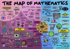 Map of Mathematics Poster | por Dominic Walliman