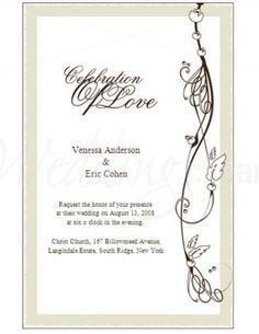 Wedding Invitations Templates    Invitation Templates Creative