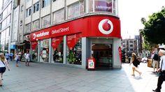 Vodafone Store, Oxford Street, London