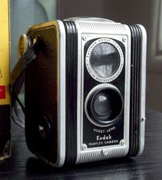 Antique Kodak Duaflex Camera by Juniper Home Vintage on Scoutmob Shoppe Kodak Camera, Vintage Cameras, Vintage Industrial, Handcrafted Jewelry, In This World, Vintage Antiques, Lens, Photography, Steampunk