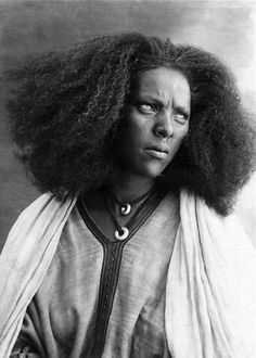 "Africa | ""Woman of Serae"". Somalia - Eritrea || Vintage photographic print; ca. 1936."