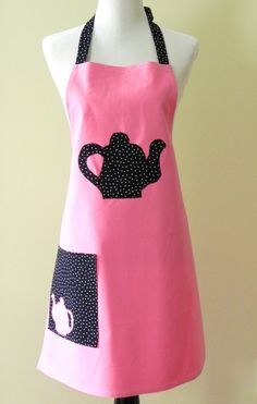 Hey, I found this really awesome Etsy listing at https://www.etsy.com/listing/188874257/womens-apron-pink-full-womens-apron-tea