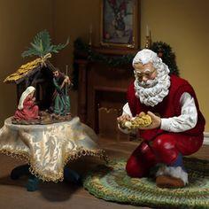 To Santa or Not to Santa- The Big Debate. Very well said Christmas Jesus, Christmas Makes, 1st Christmas, Vintage Christmas, Christmas Holidays, Christmas Ideas, Christmas Decor, Nutcracker Christmas, Christmas Nativity