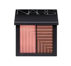 Nars Dual-Intensity Blush in Panic. Bright raspberry pink and rusty coral powders that you can dust on dry for a subtle glow—or use wet (mist your blush brush with water) for a more dramatic look. Cheek Makeup, Eye Makeup, Makeup Blush, Blush Beauty, Night Makeup, Makeup Set, Pattern Dots, Mascara, Natural Glow