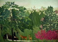 Henri Rousseau The Waterfall painting is shipped worldwide,including stretched canvas and framed art.This Henri Rousseau The Waterfall painting is available at custom size. Henri Rousseau, Painting Frames, Painting Prints, Art Encadrée, Waterfall Paintings, Jungle Art, Framed Art, Wall Art, Framed Canvas