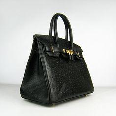 the elusive black Hermes Birkin bag...sigh..