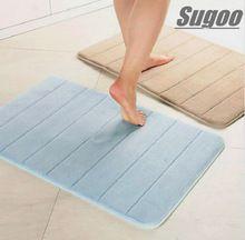 Espuma de la memoria de baño alfombra de baño alfombra antideslizante…