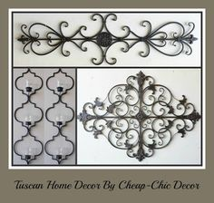 Cheap-Chic Decor: Look At What Just Arrived...Tuscan Decor by Cheap-...