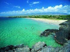 Hapuna Beach, Hawaii - In just 20 days I'll be here, starting the Hawaii 70.3 Ironman!!