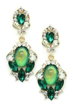 Green My Ear Earrings