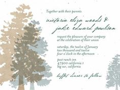 Red Wood Plantable Wedding Invitations (50 ct) | Green Bride Guide