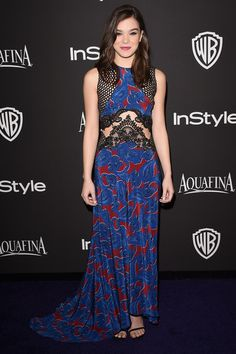 Actress Hailee Steinfeld attends the 2015 InStyle And Warner Bros. 72nd Annual Golden Globe Awards Post-Party at The Beverly Hilton Hotel on January 11, 2015 in Beverly Hills, California.