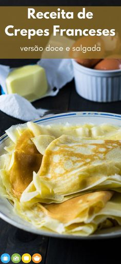 Chef Recipes, Sweet Recipes, Vegetarian Recipes, Cooking Recipes, Food N, Good Food, Food And Drink, Yummy Food, Pancakes