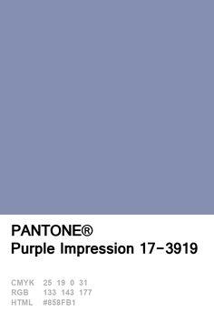 Pantone Purple Impression 17-3919 Colour of The Day 23 January