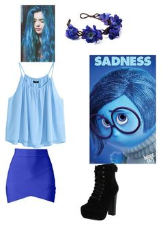 """#disneybound"" by mya-trackewicz on Polyvore featuring H&M, Chelsea Crew, women's clothing, women, female, woman, misses and juniors"