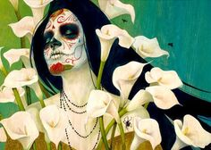 Dia DE Los Muertos Art Photo:  This Photo was uploaded by granola_head. Find other Dia DE Los Muertos Art pictures and photos or upload your own with Pho...