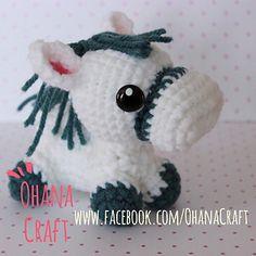 Amigurumi Horse - FREE Crochet Pattern / Tutorial, thanks so for share xo  ☆ ★  https://www.pinterest.com/peacefuldoves/