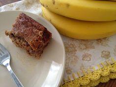 Rubia Rubita: Bolo de Banana sem Trigo e sem Açúcar