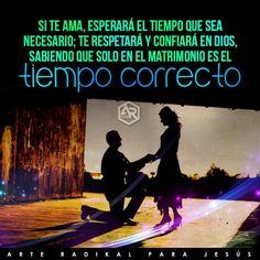 matrimonio, palabras, frases, vida, amor, pasion, esperar en Dios,  tiempo correcto