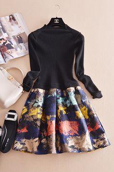 綺麗なワンピース Love Fashion, Korean Fashion, Vintage Fashion, Womens Fashion, Fashion Design, Harajuku Fashion, Hijab Fashion, Fashion Dresses, Sartorialist