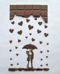 Made of chocolate