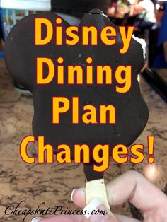 Have you heard about changes to the Disney Dining Plan? Get the details!