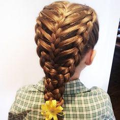 Feathered dutch braid hair pretty hair hair ideas beautiful hair hairstyles dutch braid feathered dutch braid feathered braid