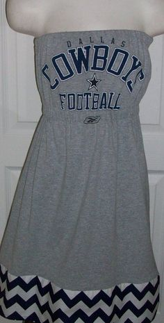 Dallas Cowboys Game Day Tee Shirt Dress  55 or this one lol Football Is  Life 14b839931