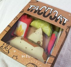 Takeout Toy Packaging - Stephani Stilwell's Tacocat Toys Come Packaged Like Fast Food (GALLERY)