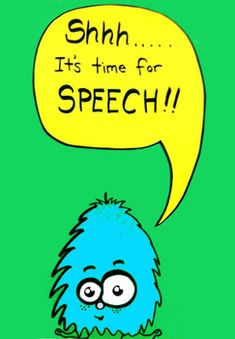 Speech Therapy Door Signs - Quiet Aliens   A collection of 4 colorful signs with adorable aliens who are reminding passers-by to be quiet while speech is in session.
