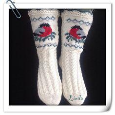 Ravelry: liwes' Bullfinch socks                                                                                                                                                                                 More